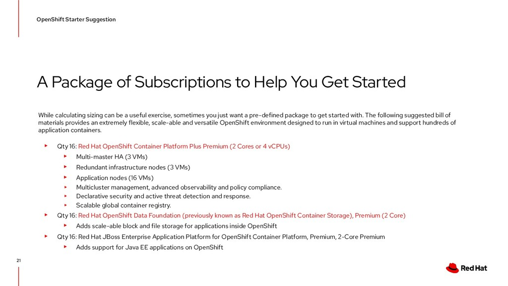 A Package of Subscriptions to Help You Get Star...