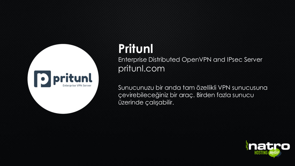 Pritunl Enterprise Distributed OpenVPN and IPse...