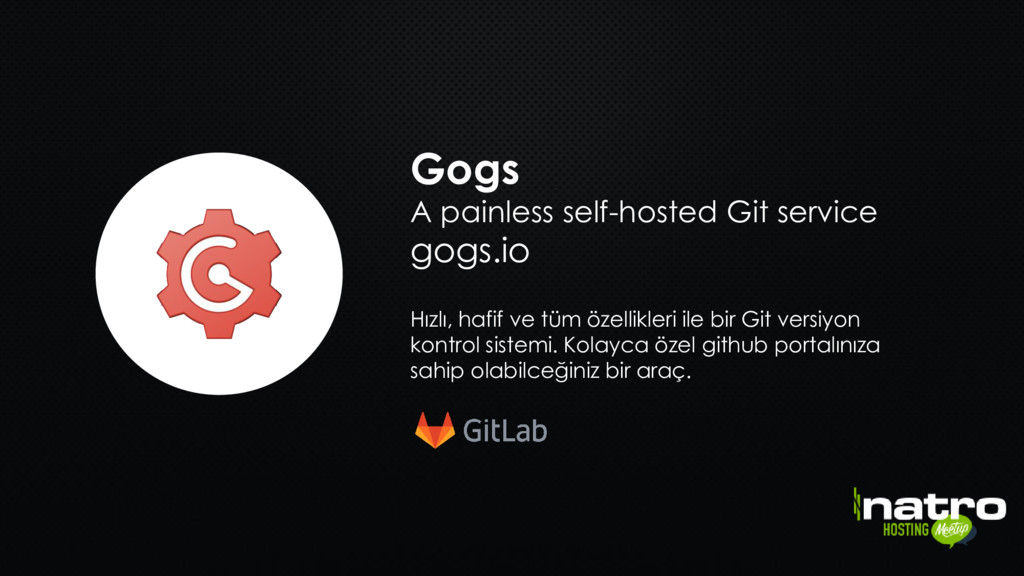 Gogs A painless self-hosted Git service gogs.io...