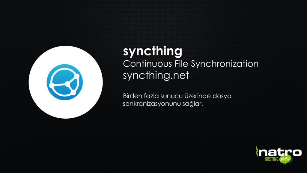 syncthing Continuous File Synchronization synct...