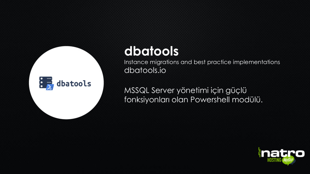 dbatools Instance migrations and best practice ...
