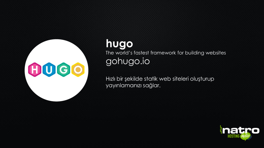 hugo The world's fastest framework for building...