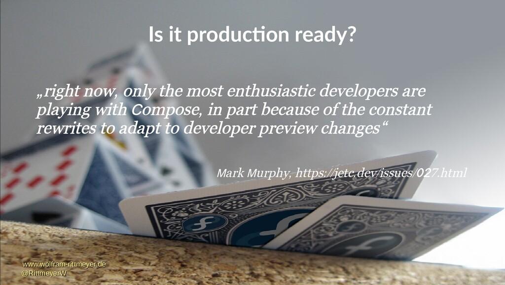 Is it production ready? www.wolfram-rittmeyer.d...