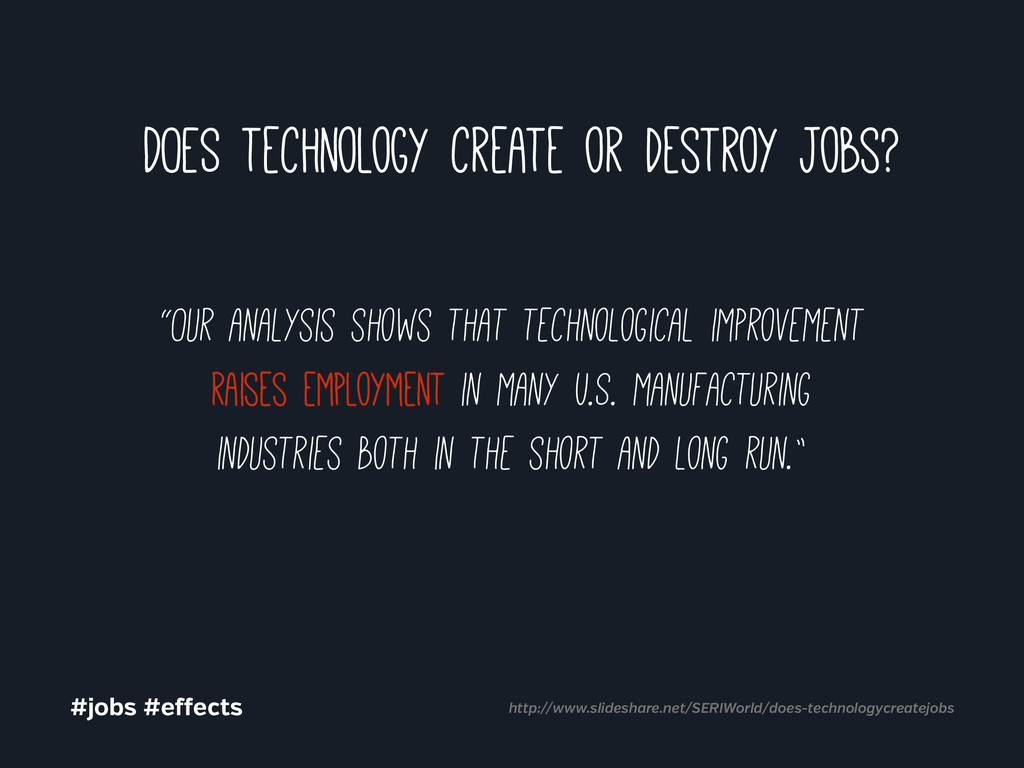 """""""Our analysis shows that technological improvem..."""