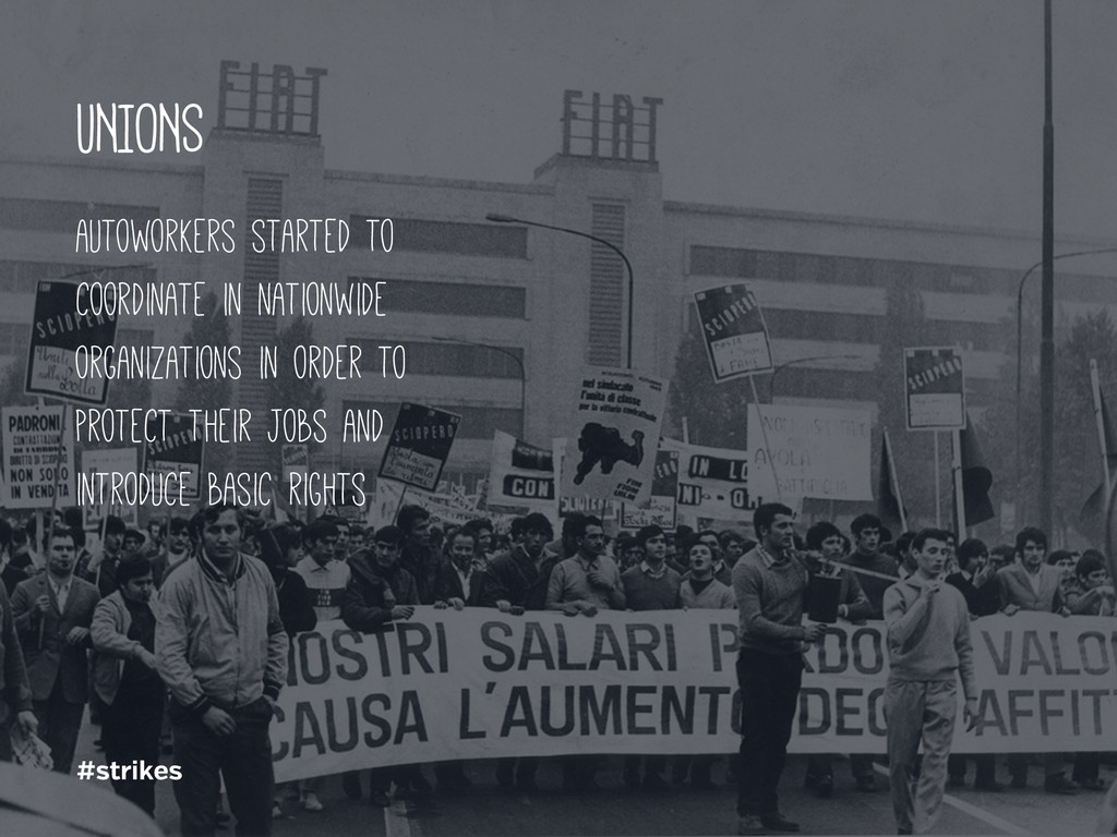 #strikes UNIONS autoworkers started to coordina...