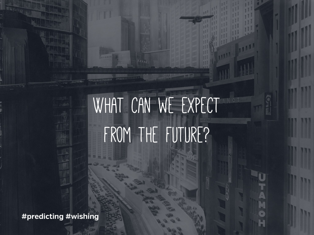 #predicting #wishing What can we expect from th...