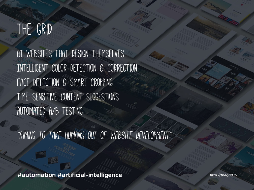 The grid AI websites that design themselves Int...