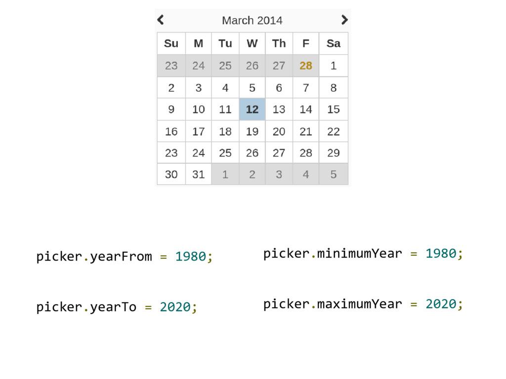 picker.yearFrom = 1980; picker.yearTo = 2020; p...