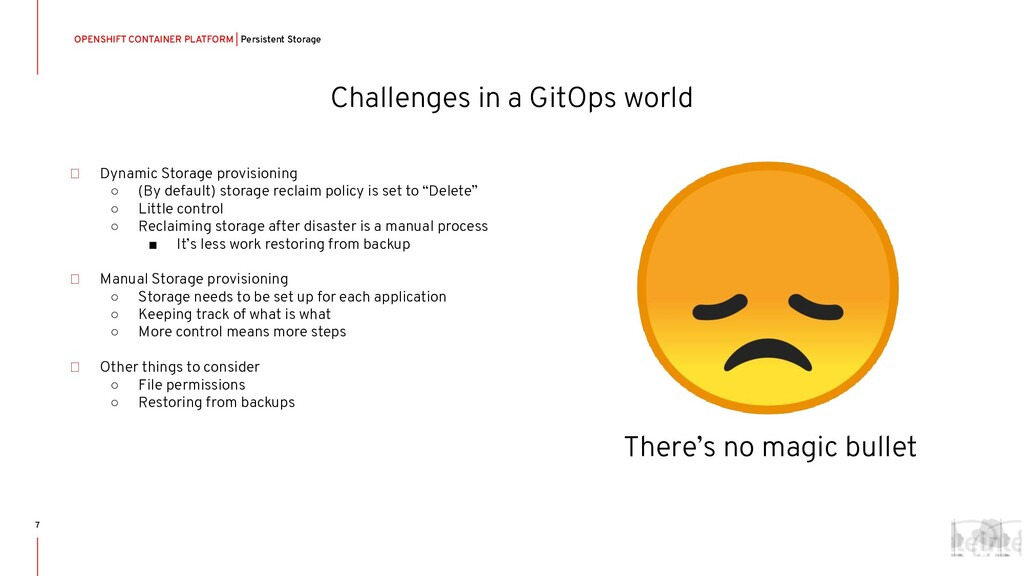 Challenges in a GitOps world OPENSHIFT CONTAINE...