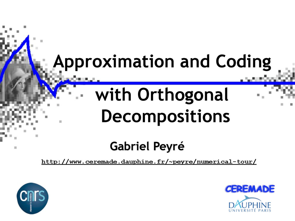 Approximation and Coding with Orthogonal Decomp...