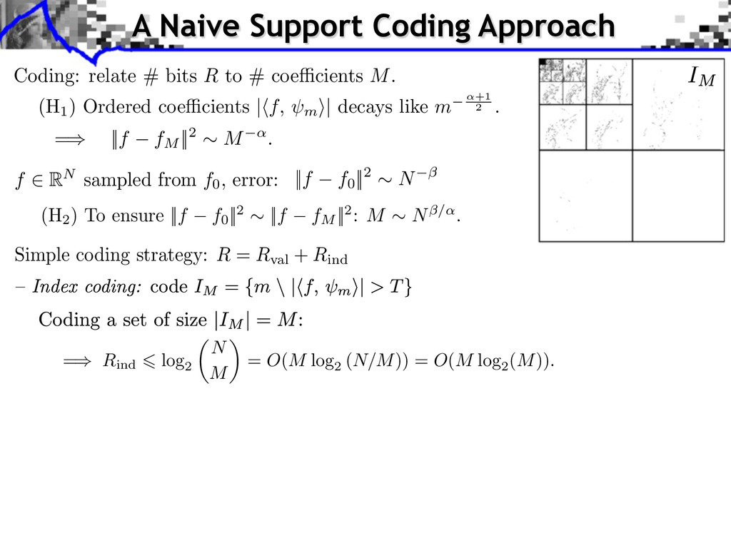 A Naive Support Coding Approach Simple coding s...