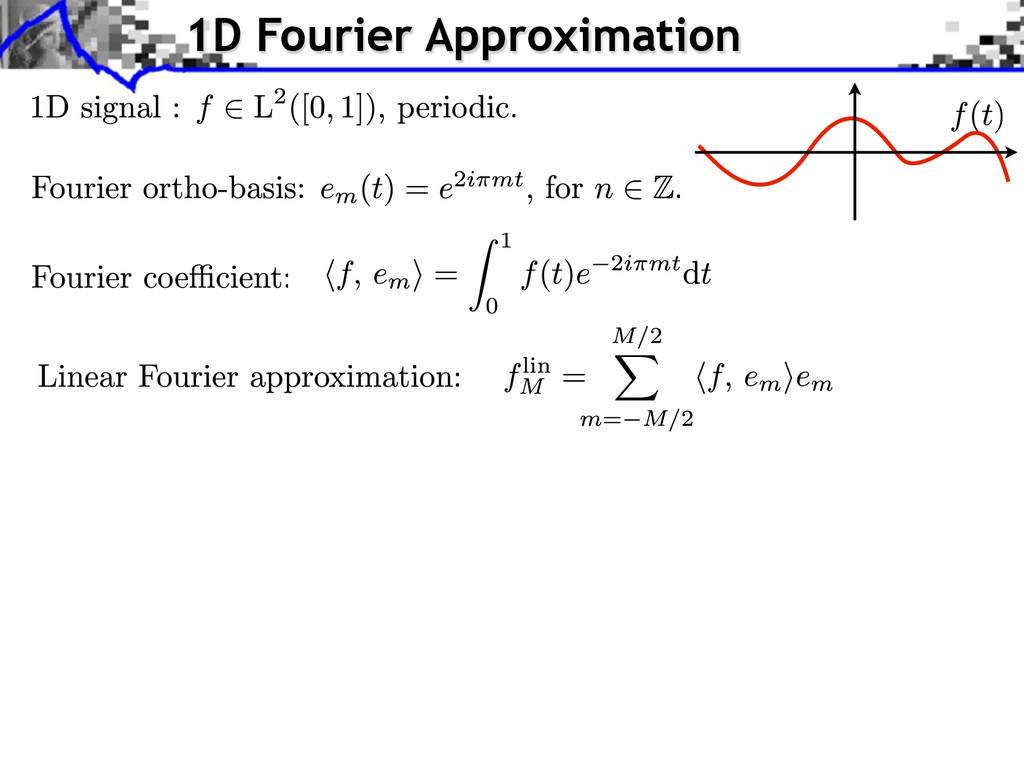1D Fourier Approximation