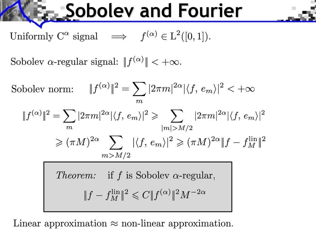 Sobolev and Fourier