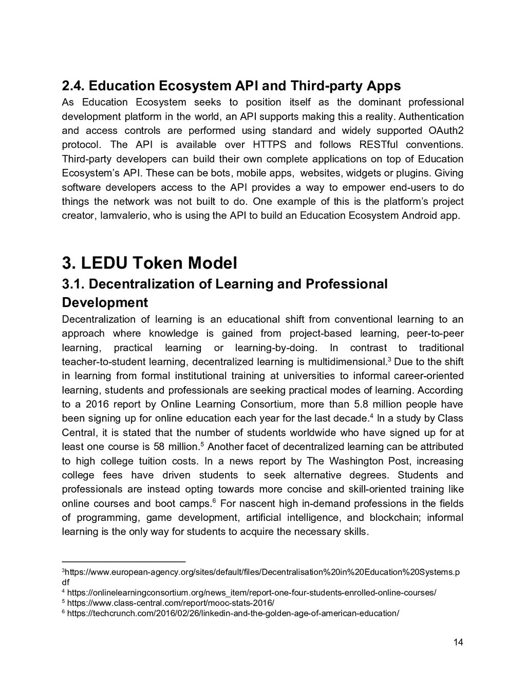 2.4. Education Ecosystem API and Third-party Ap...