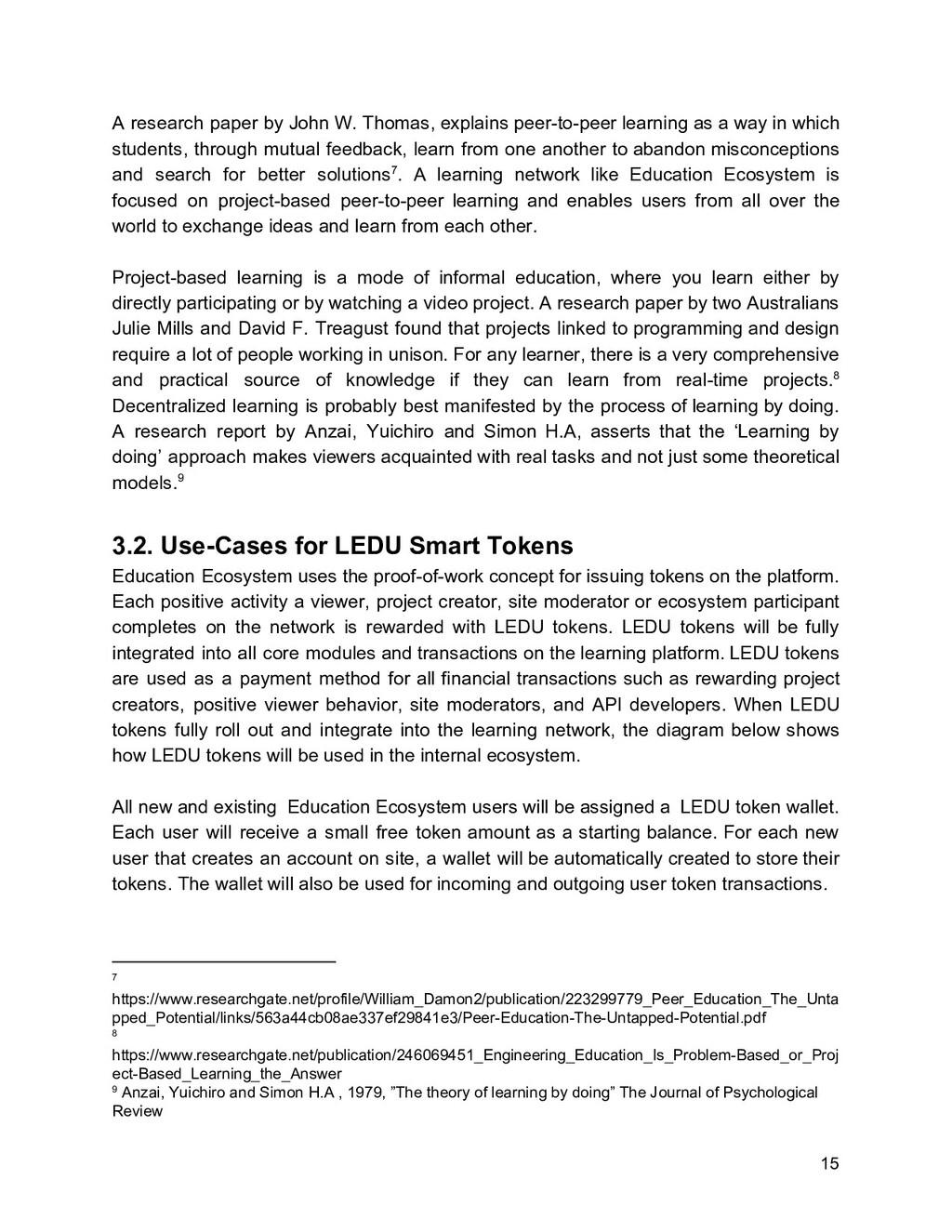 A research paper by John W. Thomas, explains pe...