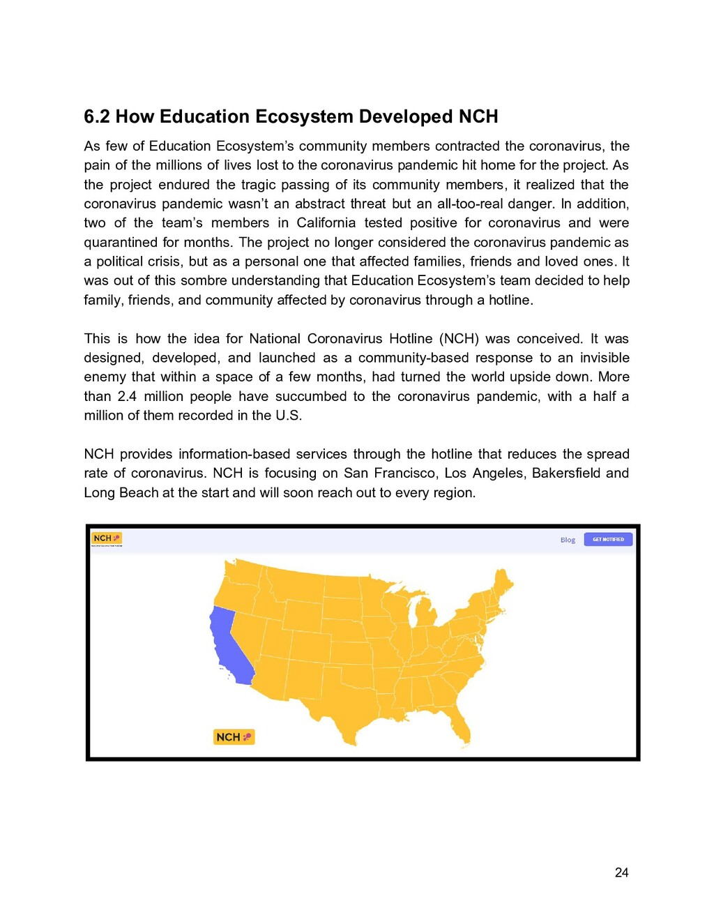 6.2 How Education Ecosystem Developed NCH As fe...