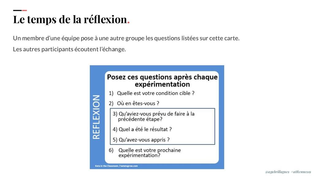 IPPON 2019 Le temps de la réflexion. Un membre d...