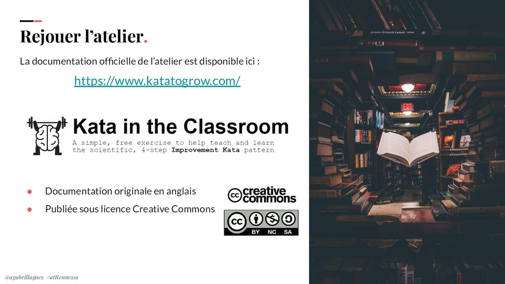 Rejouer l'atelier. La documentation officielle d...