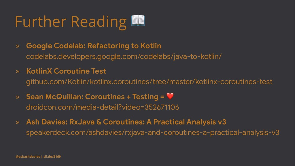 Further Reading ! » Google Codelab: Refactoring...