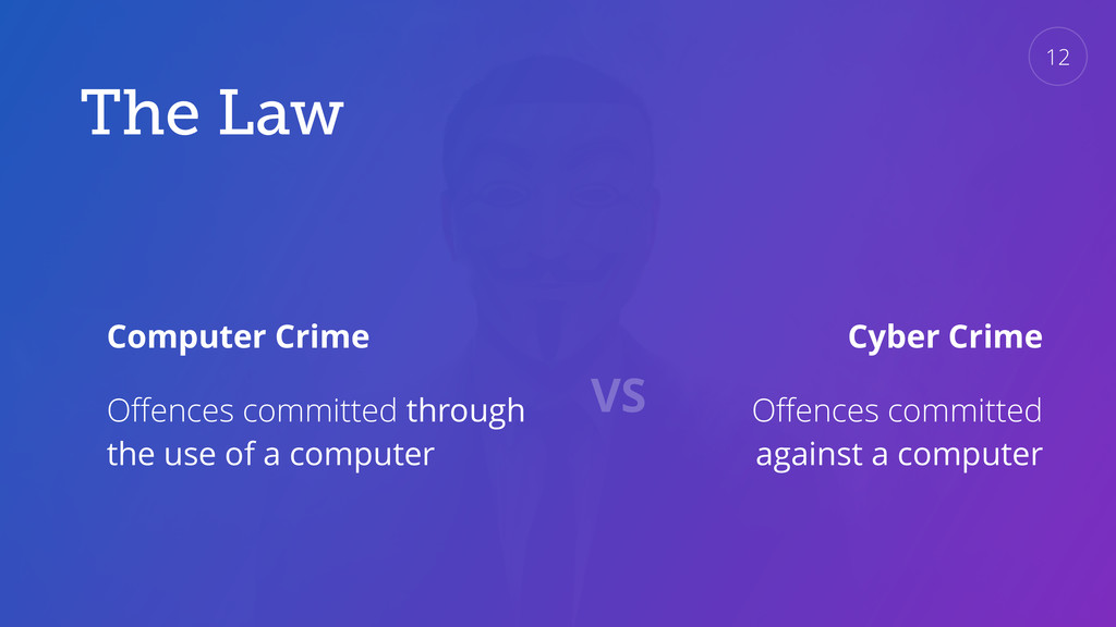 The Law Computer Crime Offences committed throug...