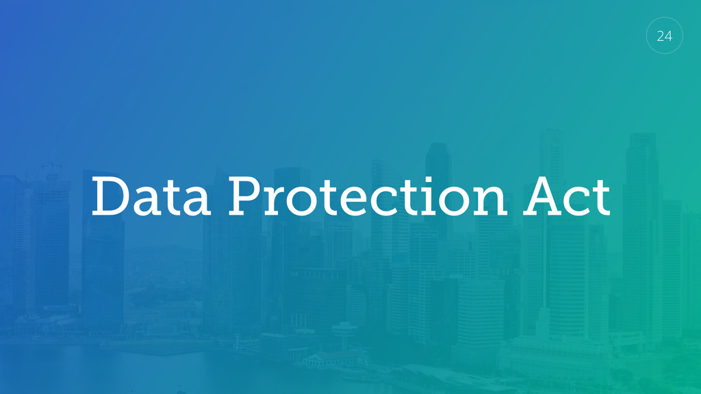 Data Protection Act 24