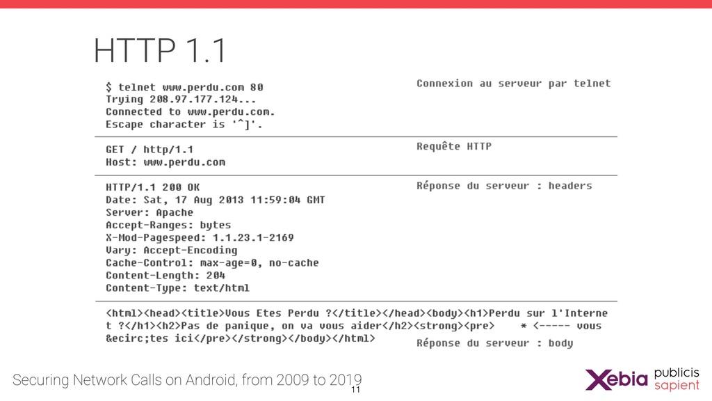 HTTP 1.1 !11