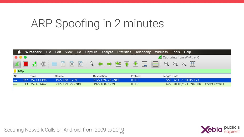 ARP Spoofing in 2 minutes !29