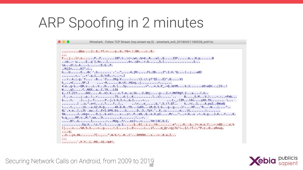 ARP Spoofing in 2 minutes !32