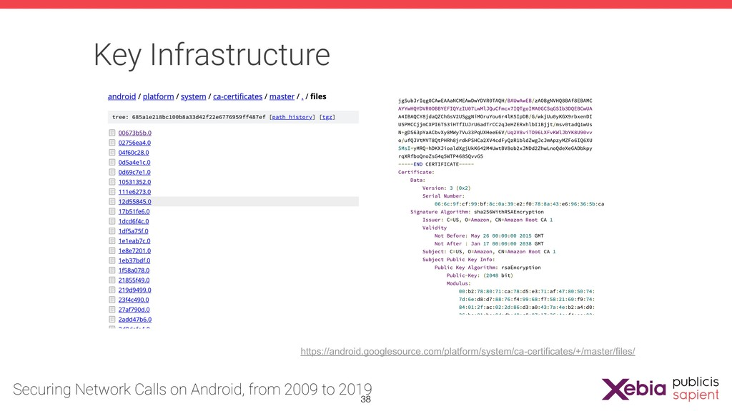 Key Infrastructure https://android.googlesource...