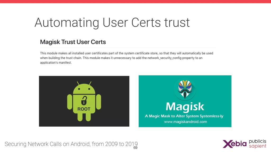 Automating User Certs trust !69
