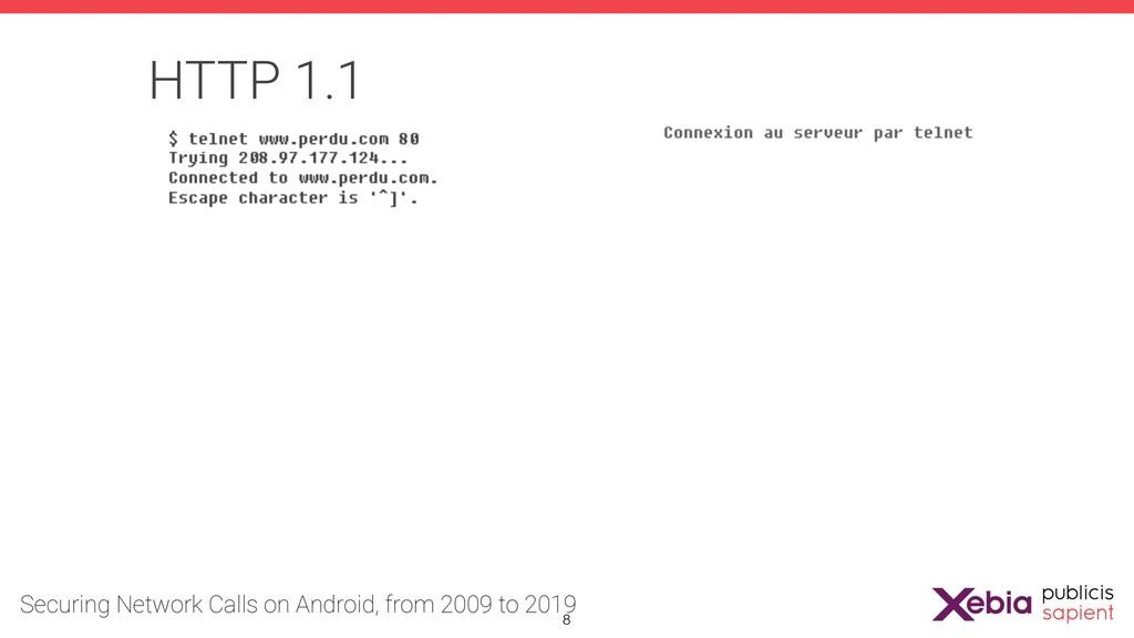 HTTP 1.1 !8