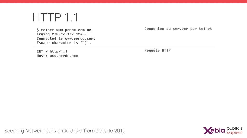 HTTP 1.1 !9