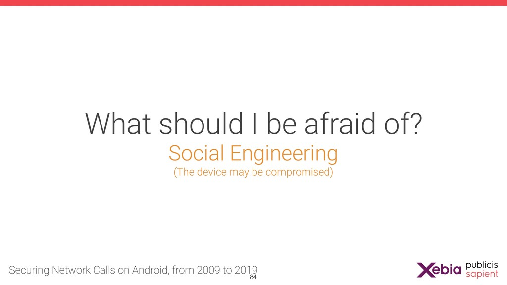 What should I be afraid of? Social Engineering ...