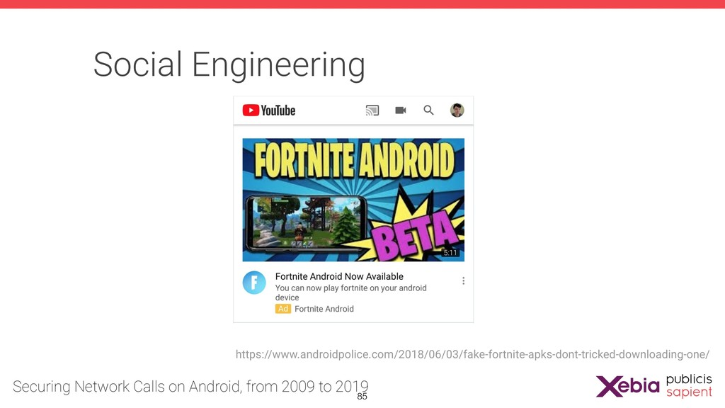 Social Engineering https://www.androidpolice.co...