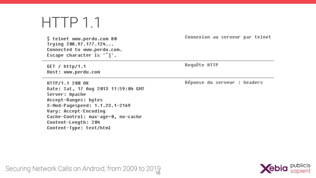 HTTP 1.1 !10