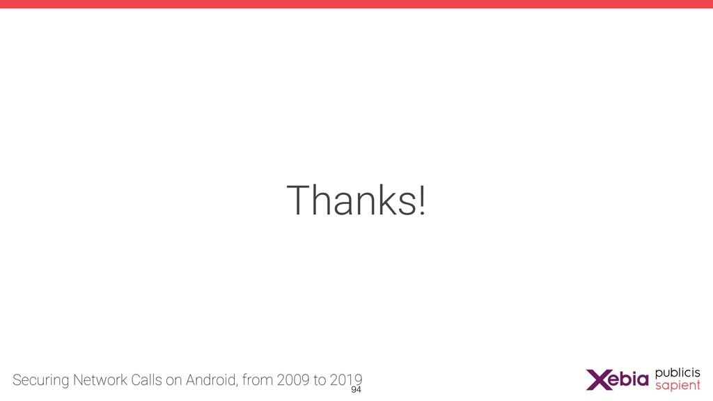 Thanks! !94