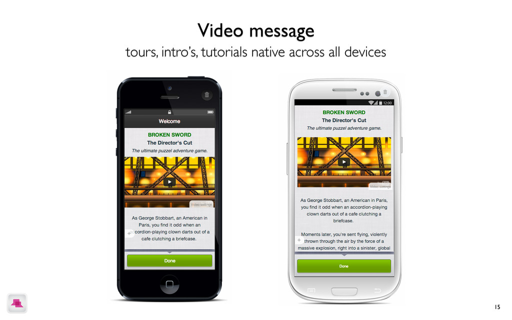 15 Create a guided tour of your app Showcase ea...