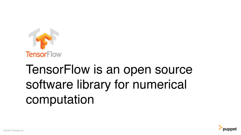 TensorFlow is an open source software library f...