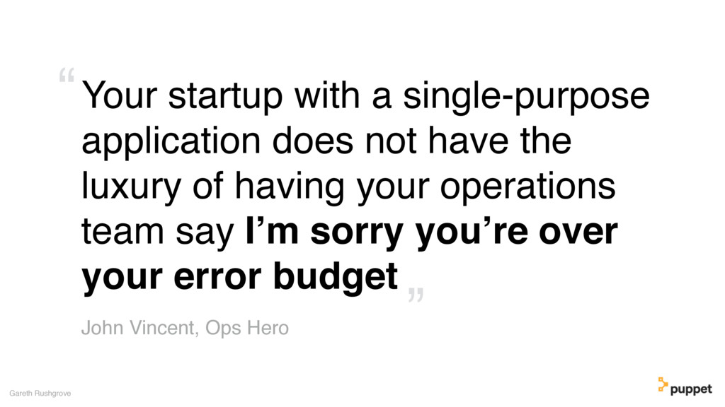 Your startup with a single-purpose application ...