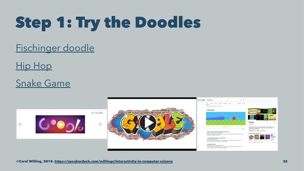 Step 1: Try the Doodles Fischinger doodle Hip H...