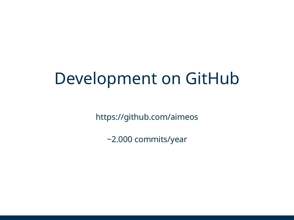 Development on GitHub https://github.com/aimeos...