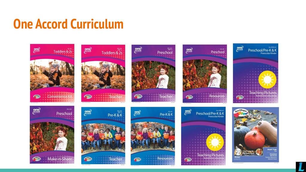 One Accord Curriculum