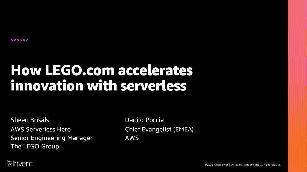 How LEGO.com accelerates innovation with serverless