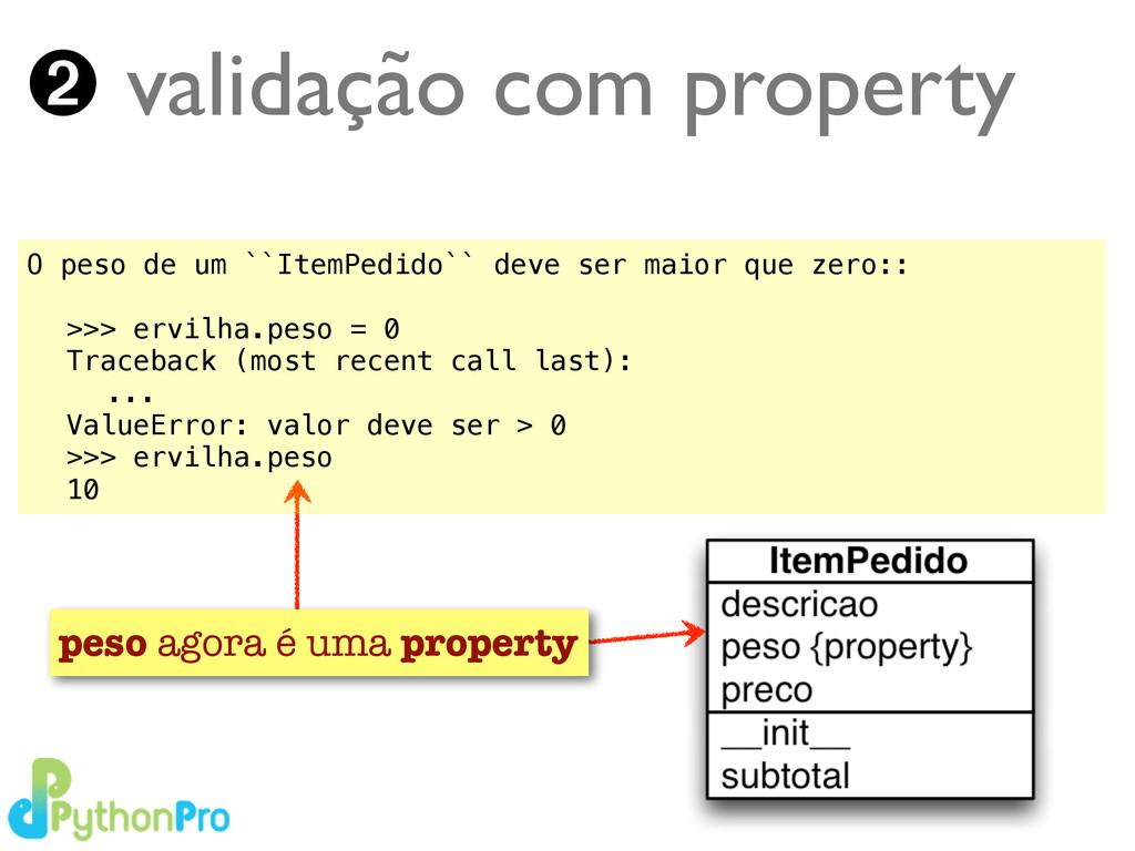 Turing.com.br ➋ validação com property peso ago...