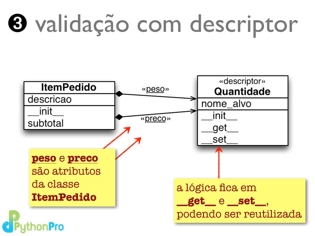 Turing.com.br ➌ validação com descriptor peso e...