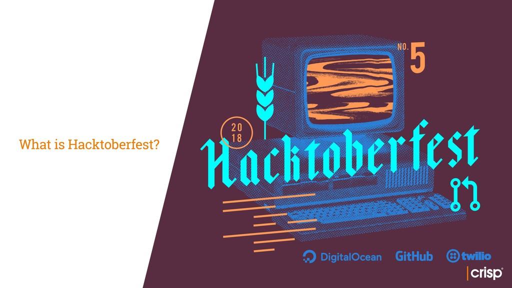What is Hacktoberfest?