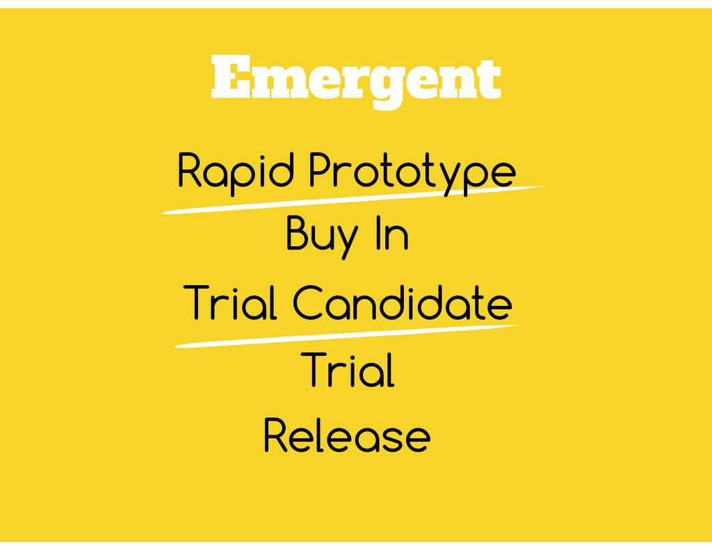 Emergent Buy In Trial Release Rapid Prototype T...