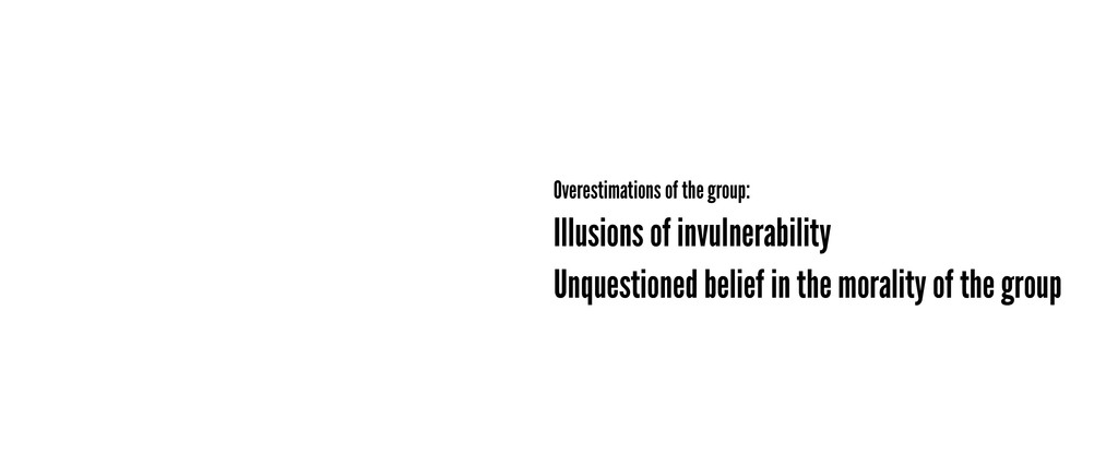 Illusions of invulnerability Overestimations of...