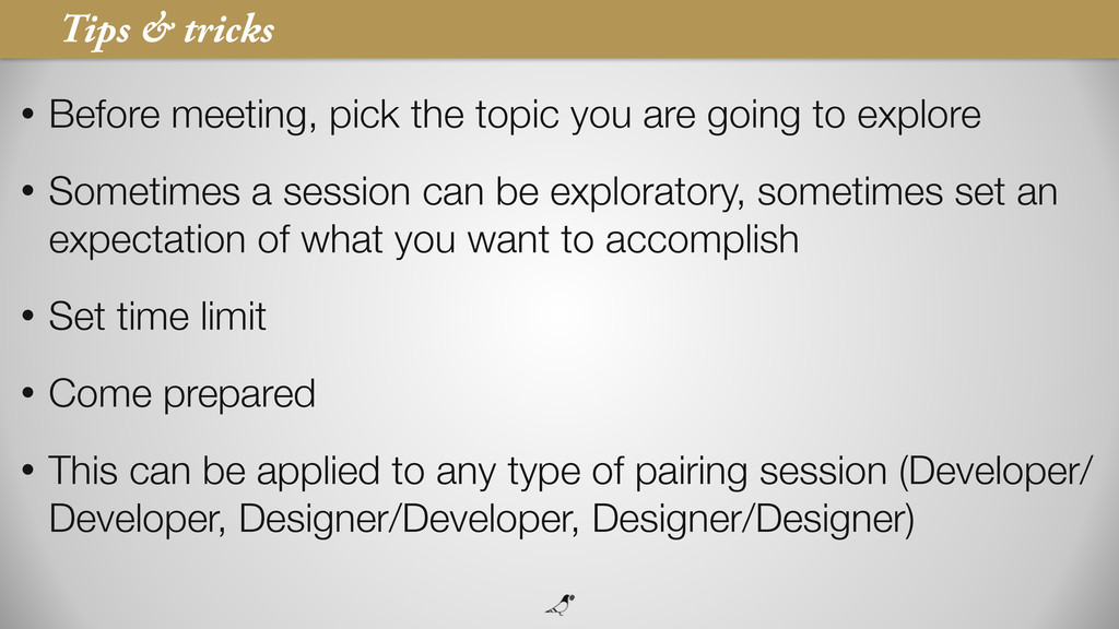 37 • Before meeting, pick the topic you are goi...