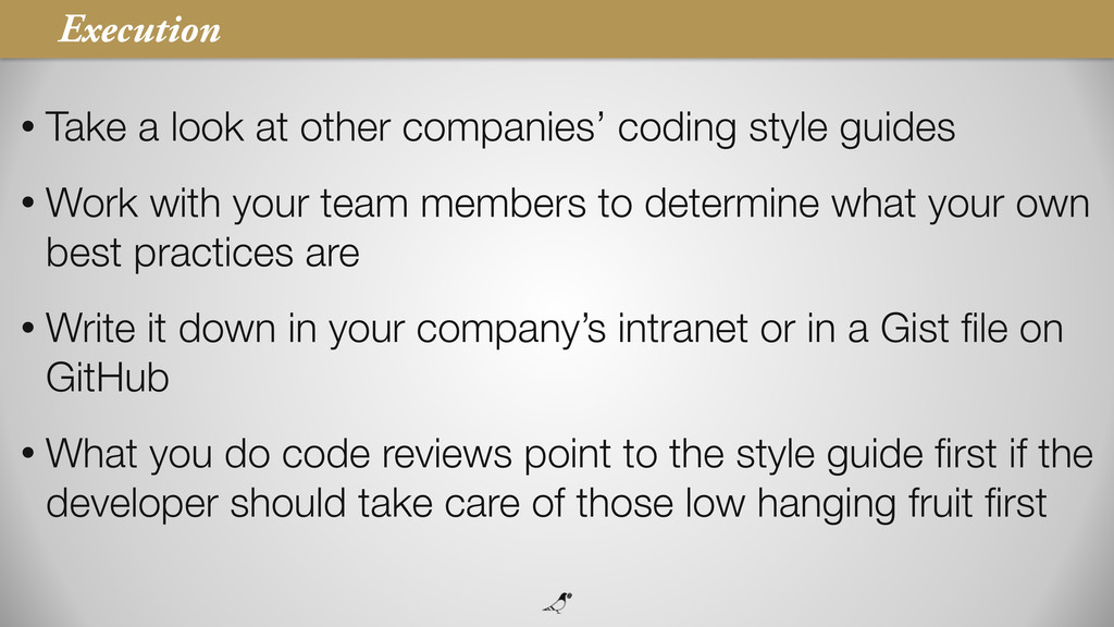 43 • Take a look at other companies' coding sty...